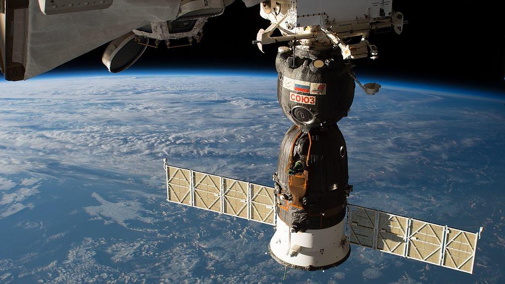 Statek Sojuz MS-09 zadokowany obecnie do ISS