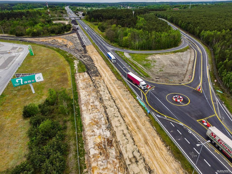 Były 'najdłuższe schody w Europie', będzie autostrada A18. Zdjęcia z budowy odcinka od Olszyny do Żar