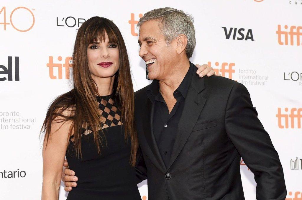 Sandra Bullock i George Clooney