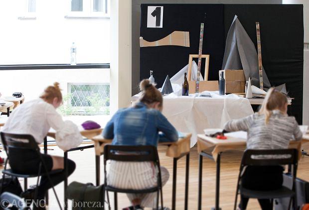 Zdjęcie numer 2 w galerii - W Gdyni odbyły się egzaminy wstępne do Liceum Sztuk Plastycznych [ZDJĘCIA]