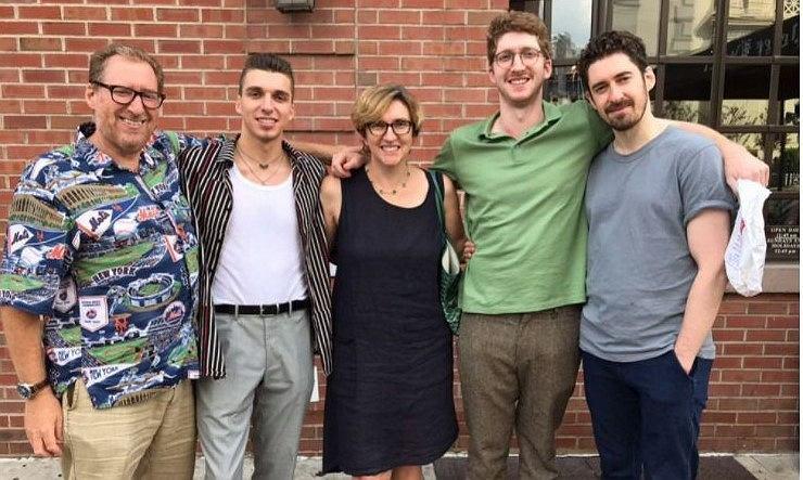 Joanna Blum z rodziną