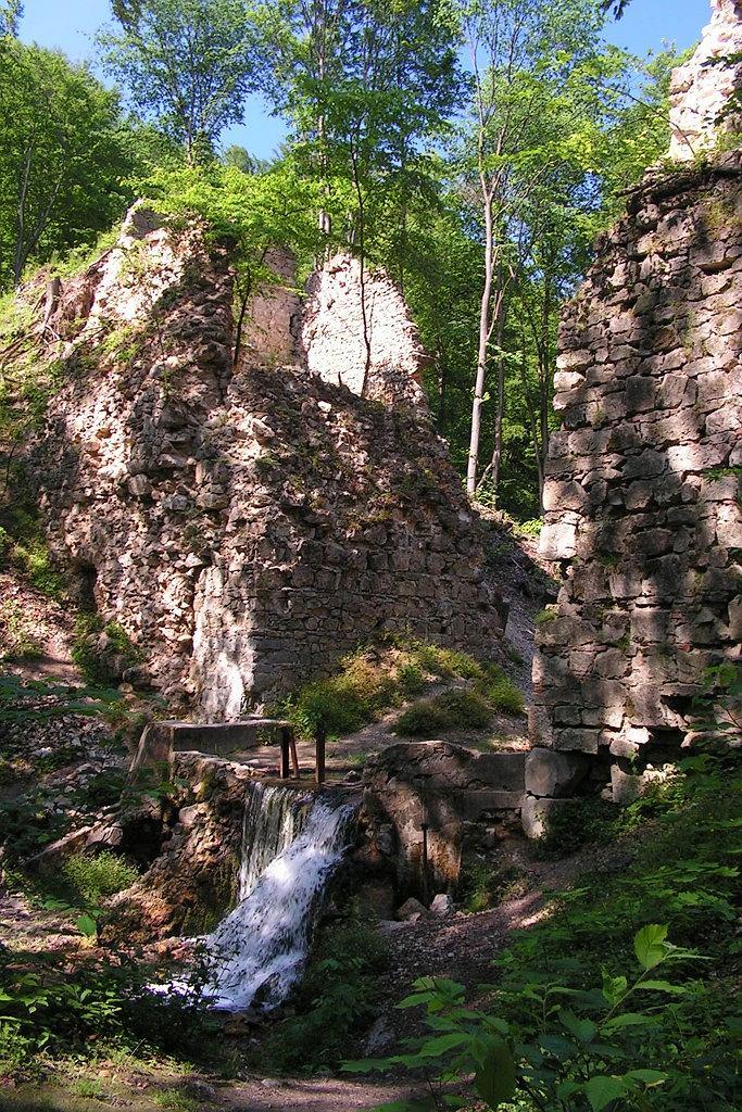 Ruiny Diabelskiego Mostu w Czernej koło Krzeszowic / fot. Paweł Grzywocz, Wikimedia