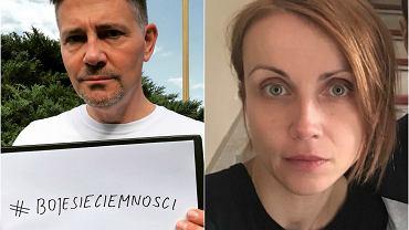 Krzysztof Ibisz i Katarzyna Zielińska reagują na oszustwo