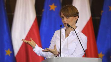 Wicepremier i posłanka z Poznania Jadwiga Emilewicz.