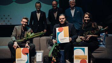Wręczenie Nagrody Miasta Gdańska dla Młodych Twórców w Dziedzinie Kultury za rok 2018.