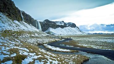 Lodowiec Eyjafjallajökull na Islandii