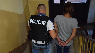 Dominikę S. miała grozić bronią 30-letniemu mężczyźnie oraz dwójce dzieci