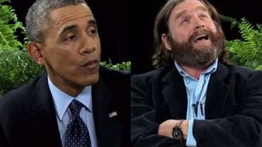 Barack Obama i Zach Galifianakis