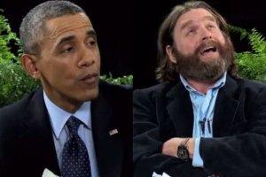 Barack Obama i Zach Galifianakis