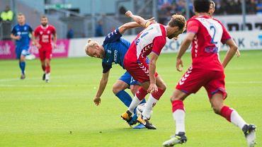 FC Utrecht - Lech Poznań 0:0 w III rundzie el. Ligi Europy. Christian Gytkjaer