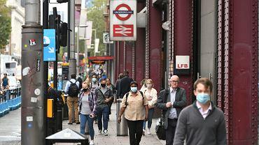 Epidemia koronawirusa / Londyn