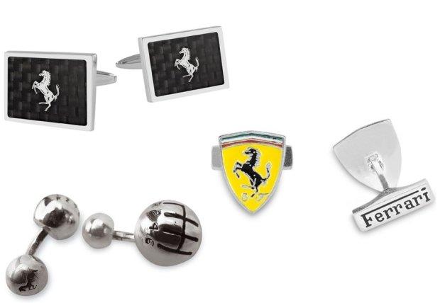 Spinki do mankietów Ferrari