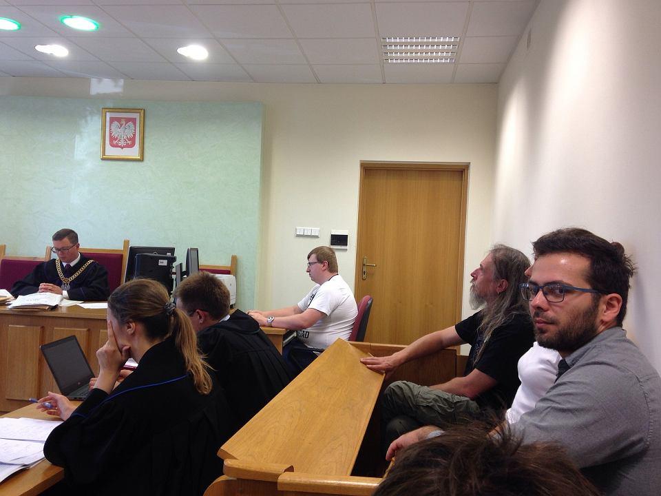 Sąd w Hajnówce. Pierwsza sprawa sądowa aktywistów chroniących Puszczę Białowieską