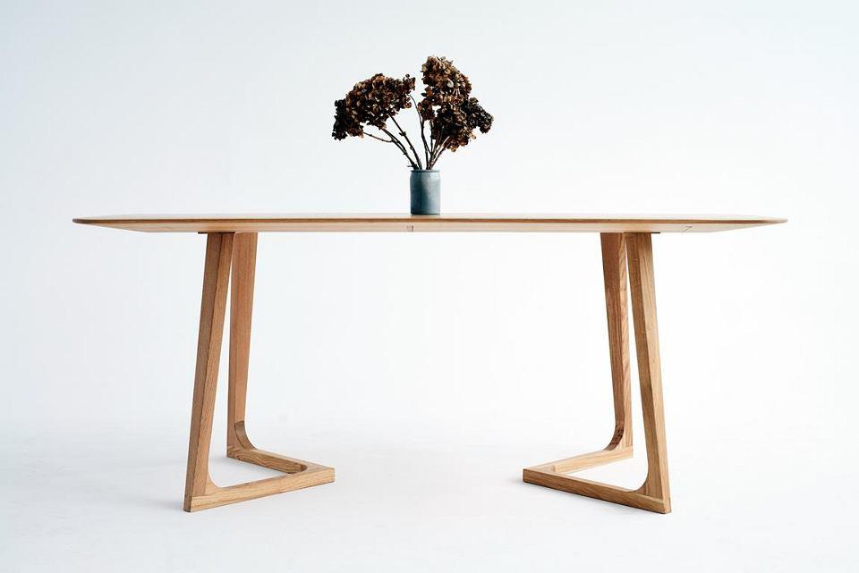 Stół drewniany Smreki ST 12 Slim Oak