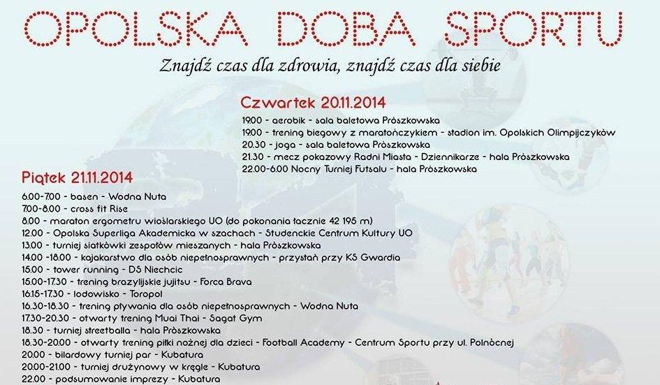 Program II Opolskiej Dobry Sportu
