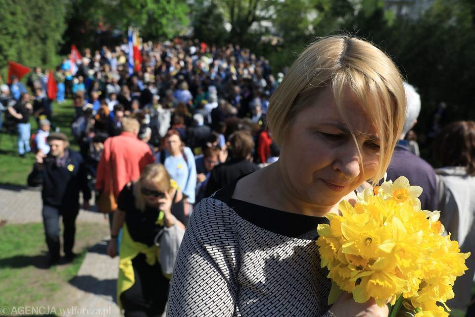 Niezalezne obchody rocznicy wybuchu powstania w getcie warszawskim
