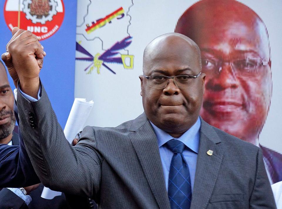 Felix Tshisekedi, zwycięzca wyborów prezydenckich w Kongu