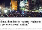 """Prezydent Poznania Jacek Jaśkowiak dla dziennika """"La Repubblica"""": """"Za doprowadzenie do tragedii odpowiada Kaczyński"""""""