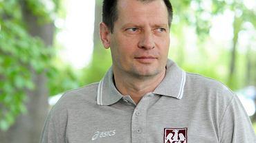 Krzysztof Stelmach, pierwszy trener Indykpolu AZS Olsztyn