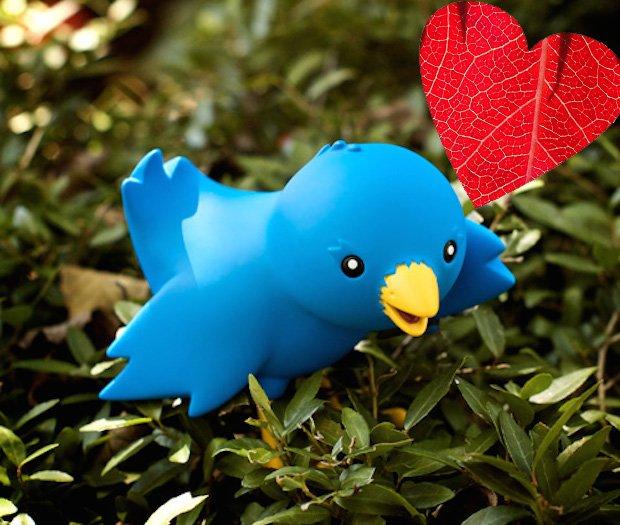 Twitterowe serduszka