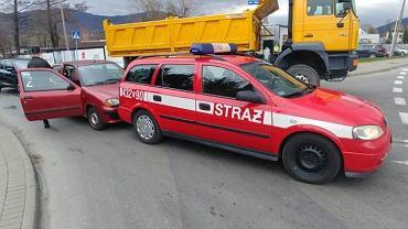 Do pięciu lat więzienia grozi kierowcy fiata, który zderzył się z samochodem straży pożarnej
