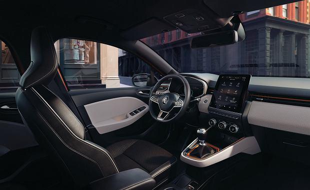 Wnętrze Renault Clio 2019