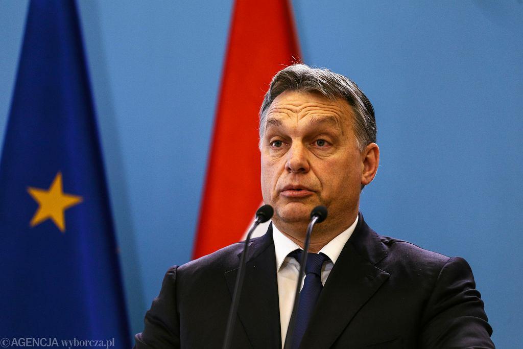 Premier Węgier Viktor Orban, 19 lutego 2015 r.
