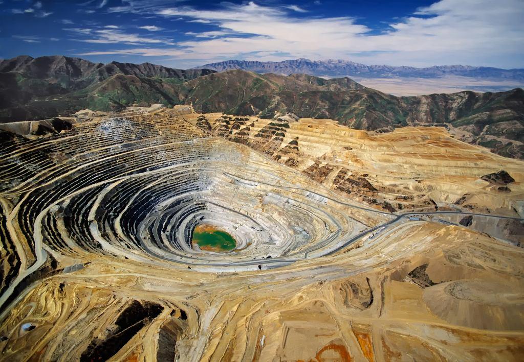 USA, Kennecotts, Bingham, Canyon Mine: kopalnia