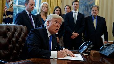 Donald Trump podpisał ustawę ws. budowy rurociągu