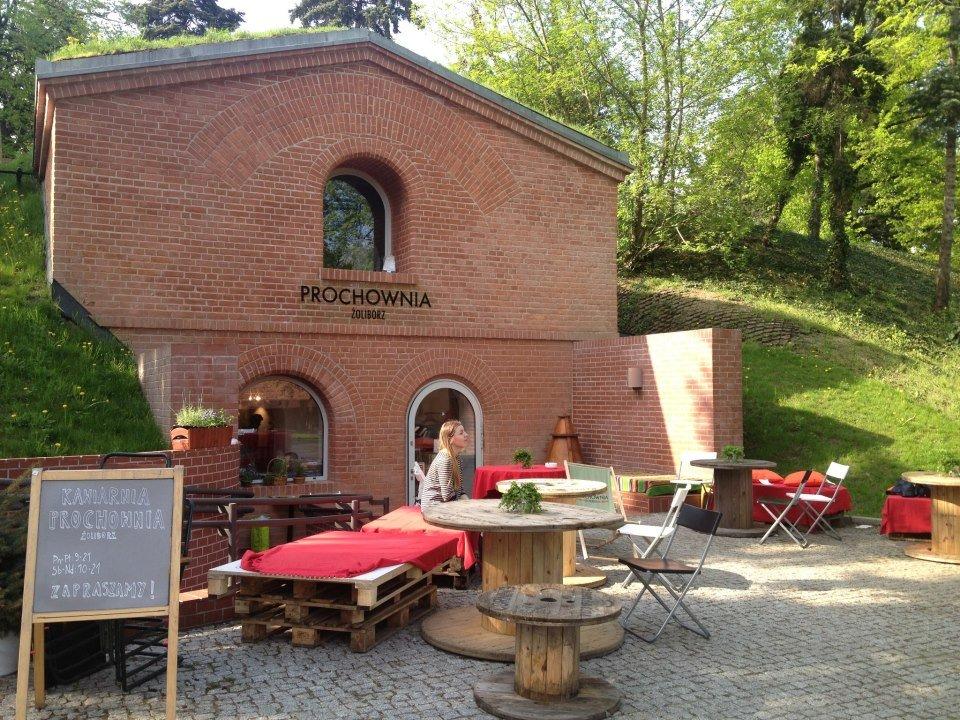 Prochownia Żoliborz w parku Żeromskiego / źródło / Facebook