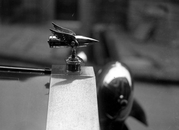 Figurka skrzydlatego pocisku