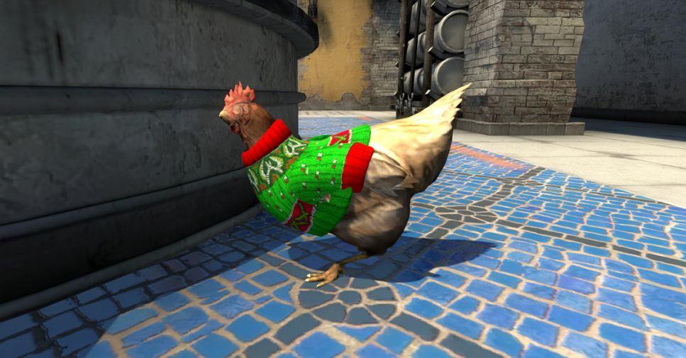 Świąteczne kurczaki w CS: GO