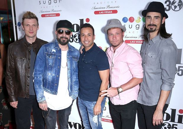 Backstreet Boys na imprezie w Las Vegas