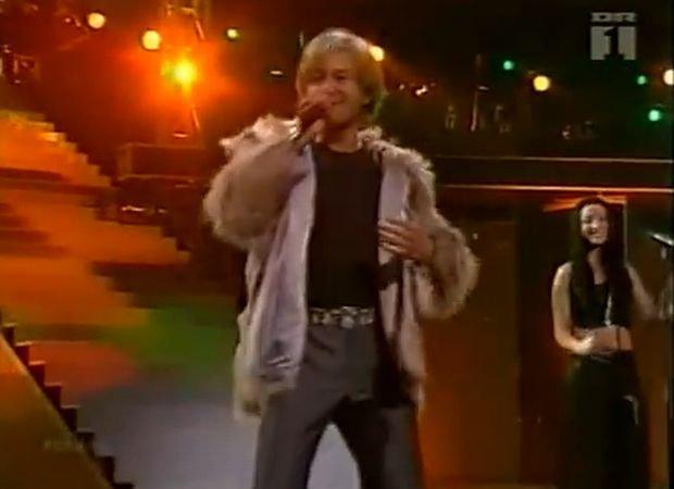 Andrzej 'Piasek' Piaseczny na Eurowizji w 2001
