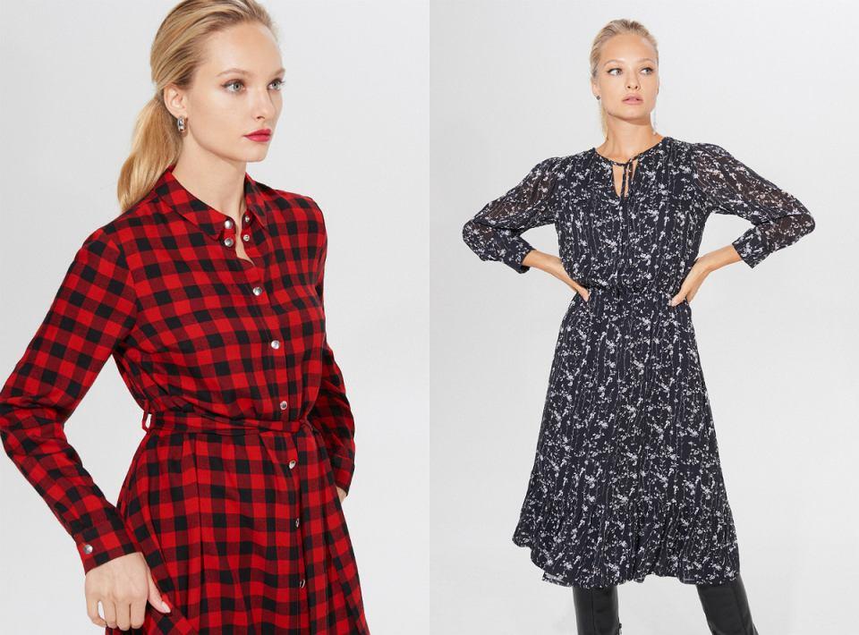 Sukienki z wiskozy - nasze typy ze znanych sieciówek