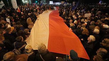 9Demonstracja w Warszawie  Dzis sedziowie , jutro Ty