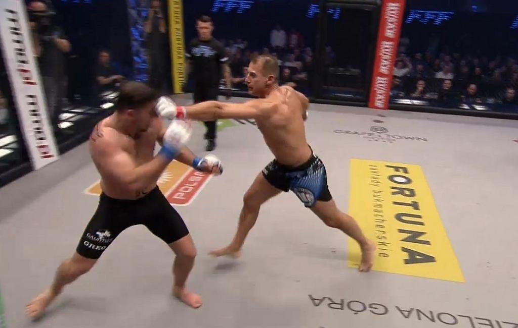 Piotr Świerczewski wygrał w debiucie w MMA!