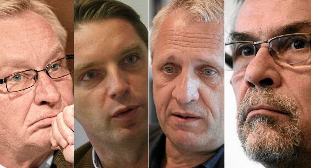 Tomasz Wołek, Tomasz Lis, Wiesław Władyka, Jacek Żakowski