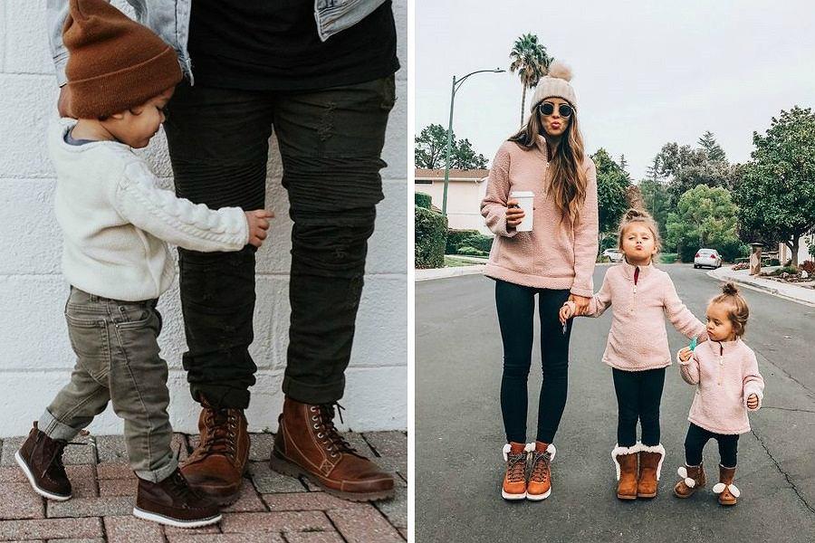 Stylowe buty dla dzieci