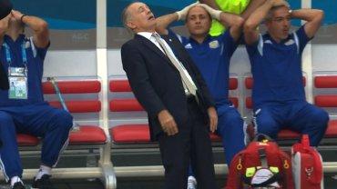 """W wygranym 1:0 ćwierćfinałowym meczu z Belgią Alejandro Sabella o mały włos zaliczył upadek, po tym jak Gonzalo Higuain zmarnował bardzo dobrą sytuację strzelając obok słupka. """"Internety"""" zareagowały błyskawicznie zalewając Twittera przeróbkami ze szkoleniowcem """"Albicelestes"""" w roli głównej"""