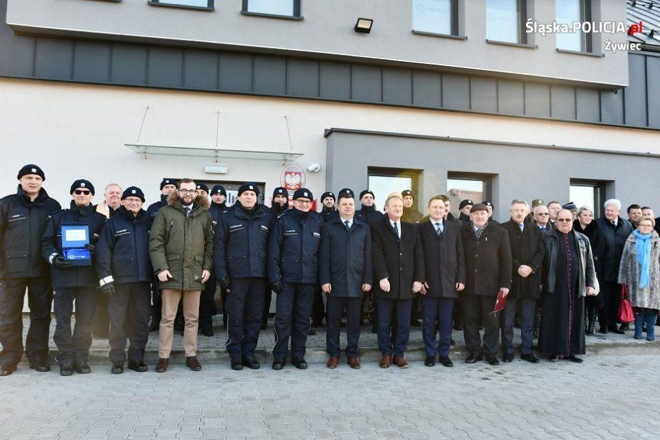 W Łodygowicach otwarto nowy komisariat policji