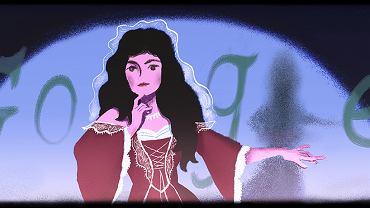 Google Doodle - rocznica urodzin Heleny Modrzejewskiej