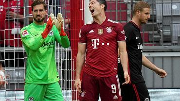 Bayern - Eintracht, drugi z rzędu mecz Bundesligi, w którym Lewandowski nie strzelił gola