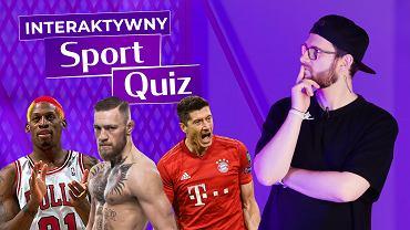 Interaktywny Quiz Sportowy i jego prowadzący Tomasz PAzdyk