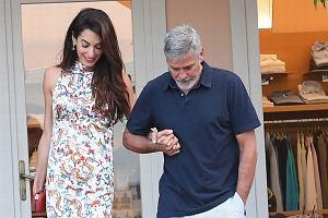 Amal i George Clooney na romantycznej randce