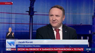 Jacek Kurski w 'Gościu Wiadomości'