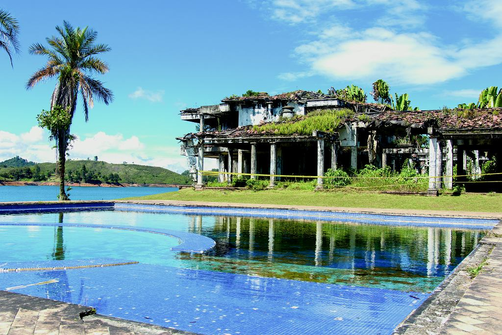 Hacienda Manuela - jedna z ulubionych rezydencji Pablo Escobara, nazwana imieniem jego córki.