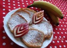 Bananowe placki - ugotuj