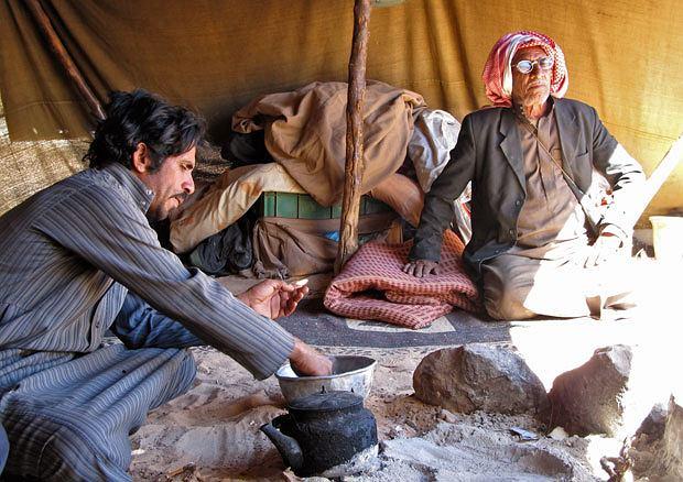 podróże, azja, Życie pustyni: podróż do Jordanii, W namiocie Beduina