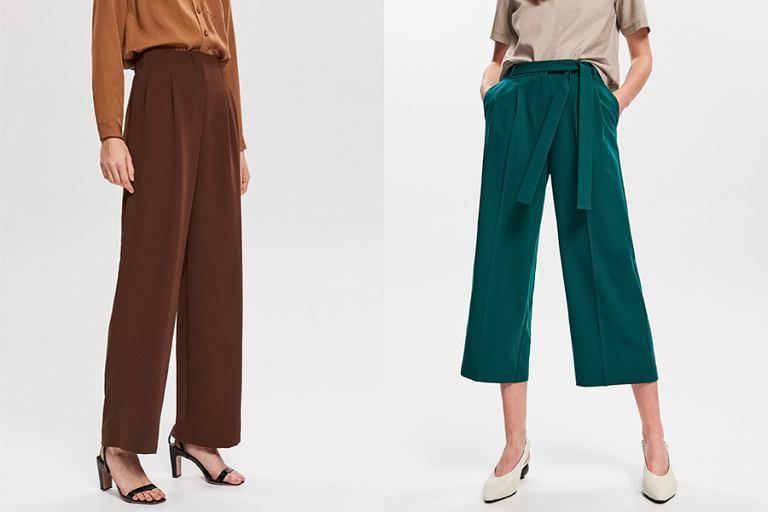 3f17cada335ed4 Kuloty i palazzo - najmodniejsze spodnie na wiosnę 2019